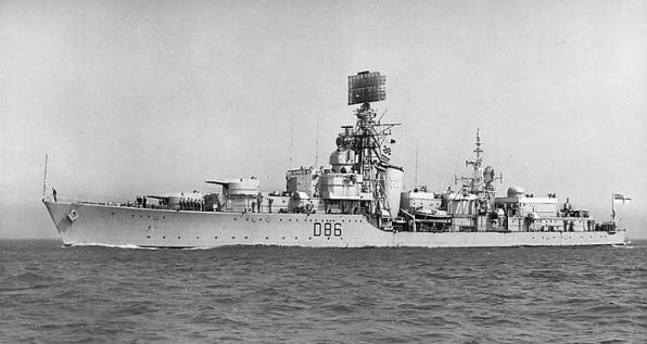 HMS AGINCOURT D-86