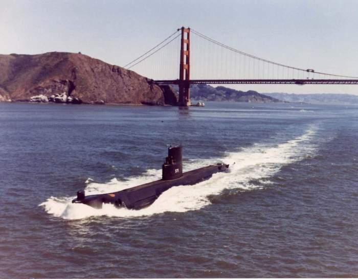 USS Seawolf SSN-575