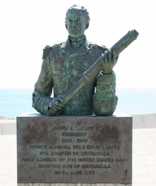 Memorial David Glasgow Farragut Menorca