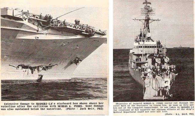 USS Shangri-la - USS Newman K. Perry - NVS