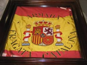 Bandera de combate de la Cataluña - MMB