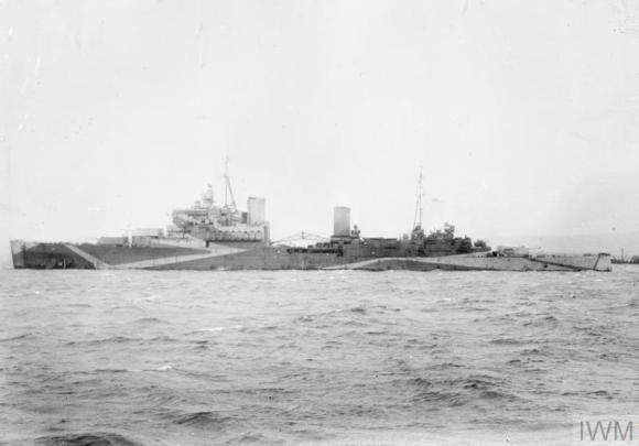 HMS Uganda 03 - IWM