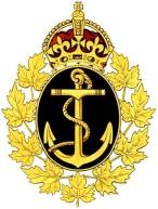 Royal Canadian Navy 1945 badge