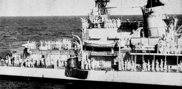 USS Noa DD841 Friendship 7