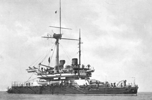 HMS_Thunderer_(1872)