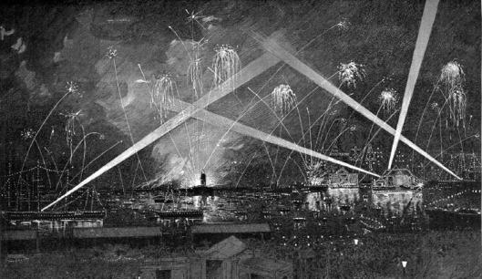 La Hormiga de oro Ed. 17-6-1888_Fiesta_Nocturna