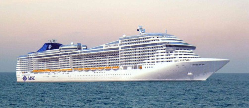 "Kreuzfahrtschiff ""MSC Fantasia"""