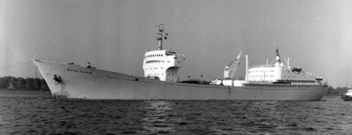 Frachter NS Otto Hahn