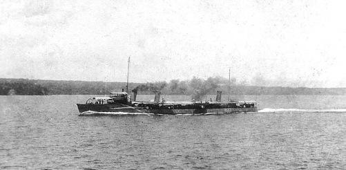 USS Bainbridge DD-1