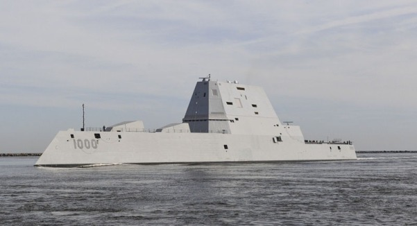 USS Zumwalt DDG1000