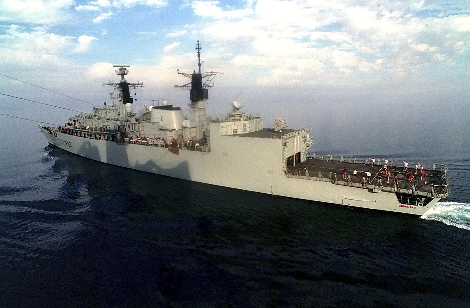 HMS Plymouth-mano acabado Edición Limitada 25