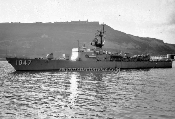USS Voge FF1047 - JMF - 14-11-1977