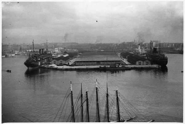 Muelle de España 27-10-1943