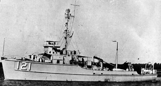 USS Bluebird MSC-121