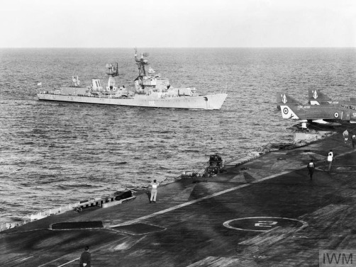 HMS ARK ROYAL IN COLLISION WITH RUSSIAN KOTLIN GUIDED MISSILE DE