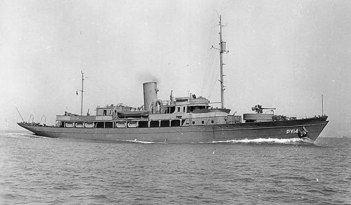 USS Argus PY-14