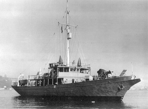 USS Black Douglas PYc-45