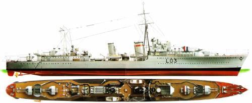 HMS Cossack_4