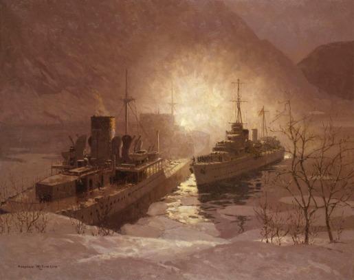 HMS Cossak - N. Wilkinson