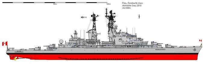 Almirante Grau CLM-81_perfil