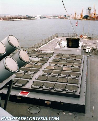 USS Mitscher DDG-57 VLS Mk 41