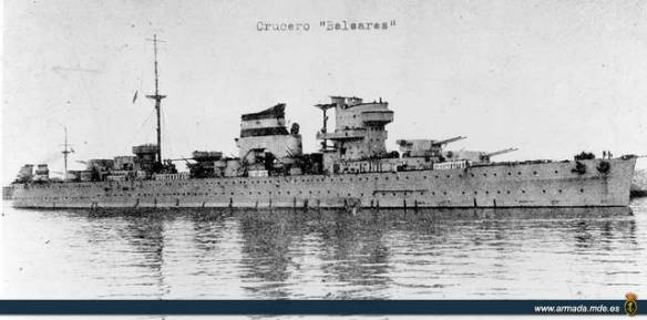 Crucero Baleares