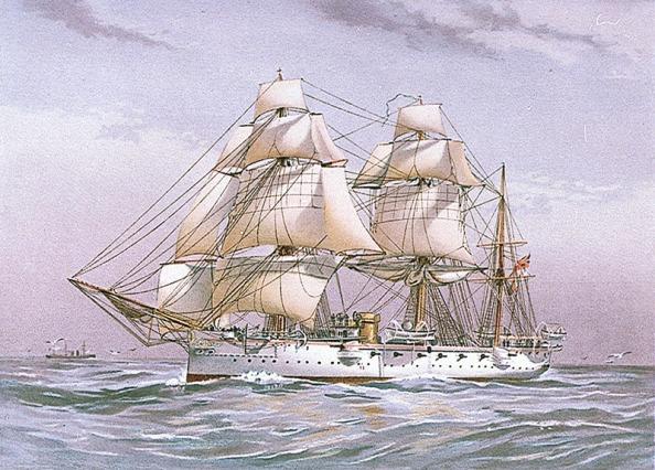 HMS Calliope_1