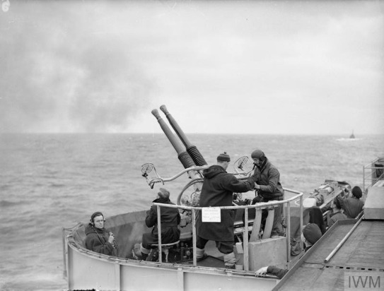 LIFE ON BOARD HMS TRACKER. SEPTEMBER TO OCTOBER 1943, IN THE NOR