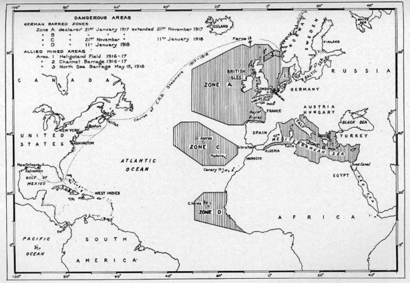 Mapa Zonas Peligrosas