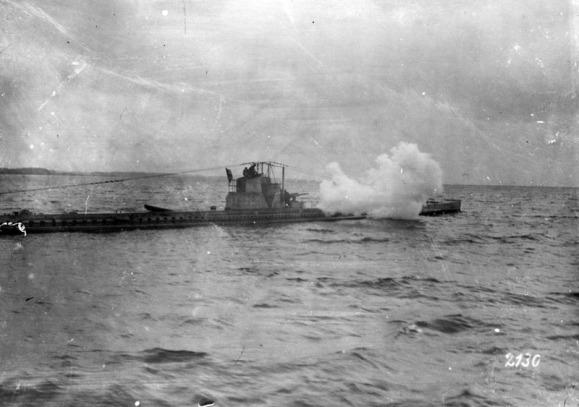 Submarino en batalla