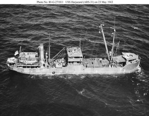 USS Harjurand ARS-31