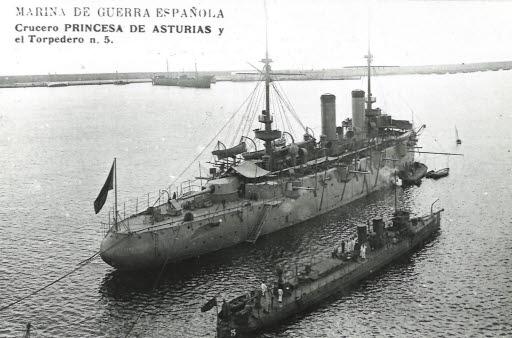 Princesa Asturias-Torpedero No 5