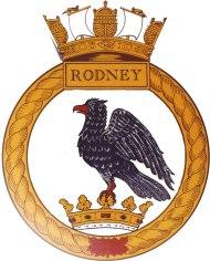 HMS Rodney badge