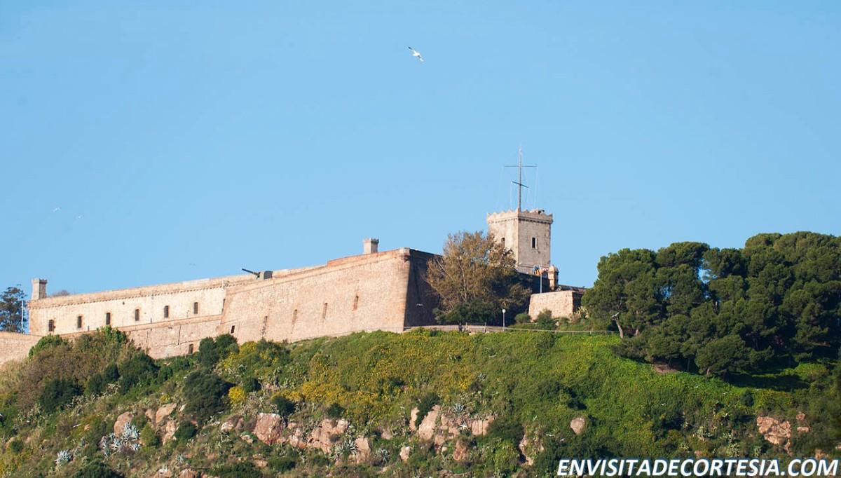 El Vigía marítimo del castillo de Montjuich