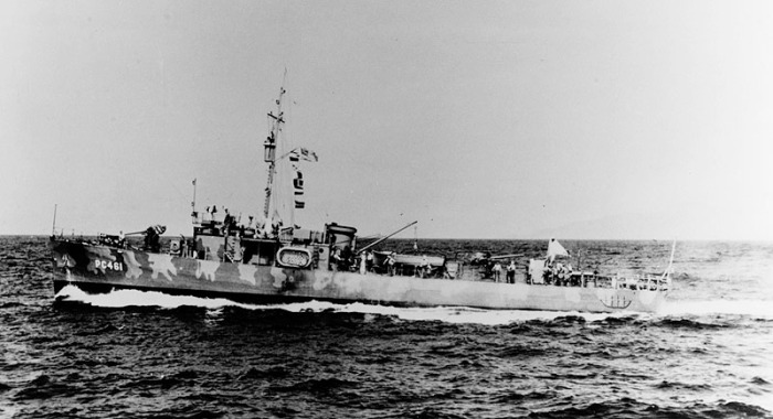 USS PC-461 NH 85409