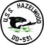 USS Hazelwood patch