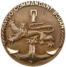 Commandant Bouan metopa