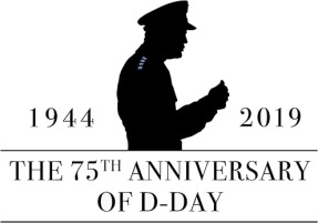 75th Anniversary D-Day Logo