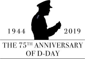 75th Anniversary D-Day Logo