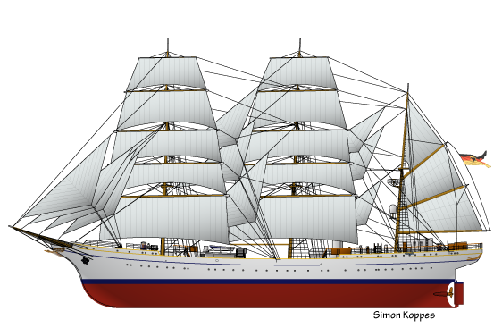 German_tallship_Gorch_Fock