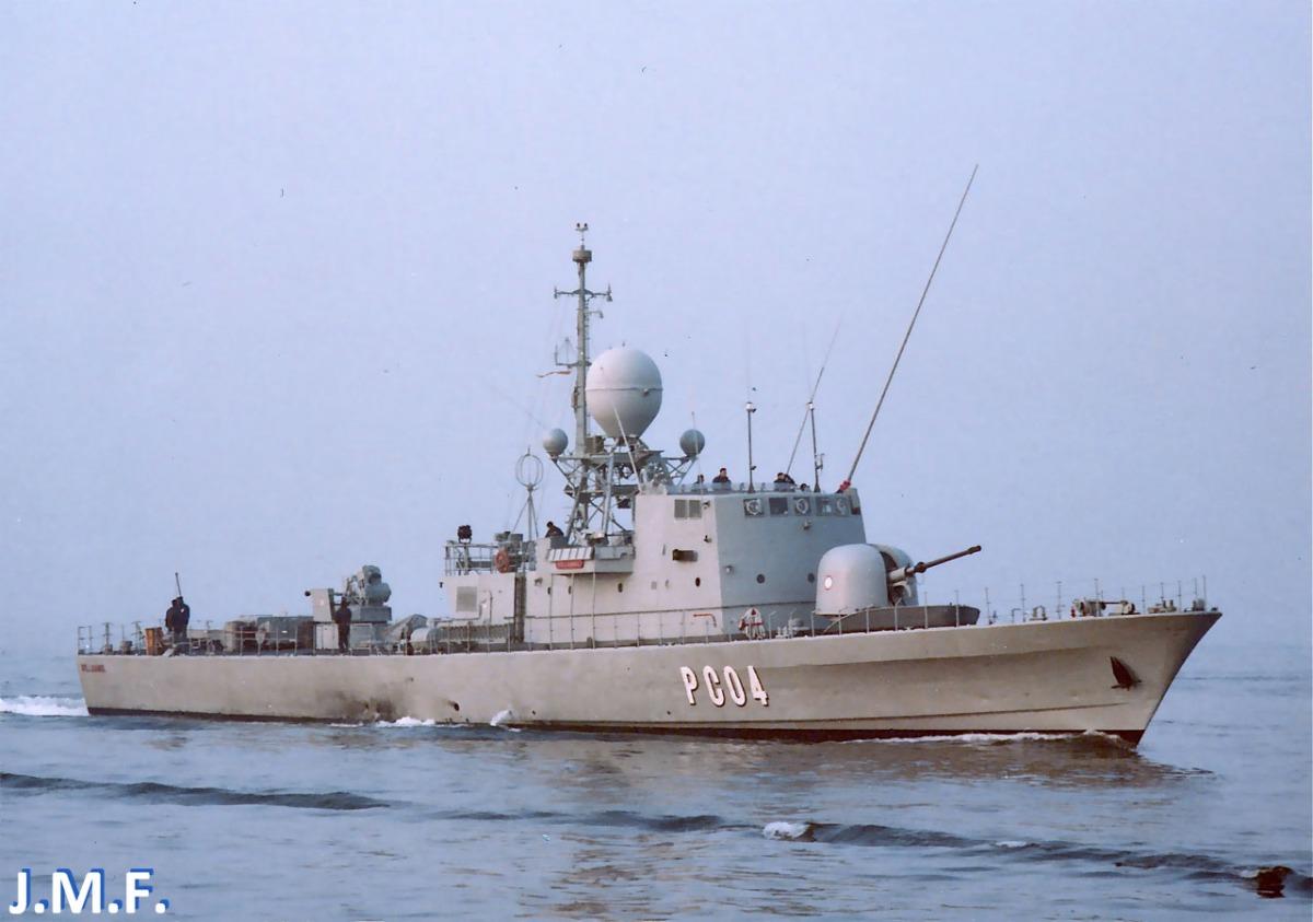 Patrulleros Lazaga, los más veloces de la Armada