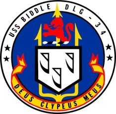 USS Biddle patch