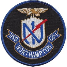 USS Northampton patch