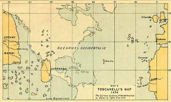 Cipango-Toscanelli