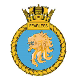 Fearless crest
