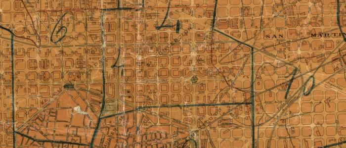 Mapa Eixample