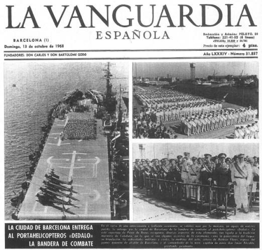 Dedalo 1968 La Vanguardia