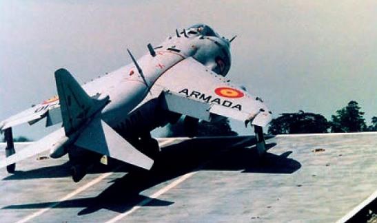 Harrier Matador Sky Jump