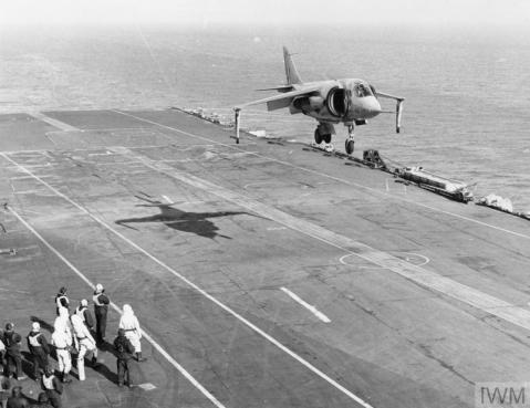 IWM (A 34714) P1127 HMS Ark Royal