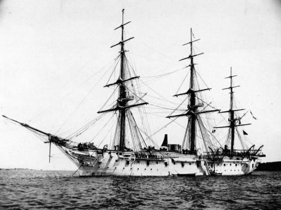 """Segelschiff """"SMS Stein"""""""